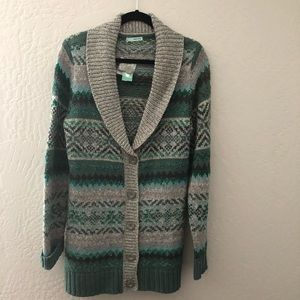 Maurice's Cardigan Patterned Sweater
